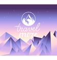 travel concept and logo design element vector image vector image