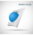 abstract ball vector image vector image