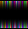 colorful rainbow gradation striped pattern vector image