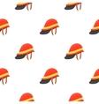 Firefighter Helmet icon cartoon pattern vector image vector image