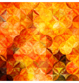 grunge orange pattern vector image