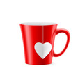 office mug cup 70 vector image