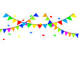 party banner icon vector image