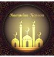 ramadan kareem background with islamic ornament