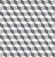 Seamless Geometrical Cube Pattern vector image