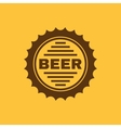 The beer icon Pub and beer alcohol symbol UI vector image
