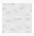 white tile background vector image vector image