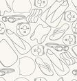 professional swimming equipment seamless vector image