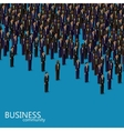 3d isometric of business or politics community a vector image