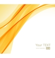 abstract orange yellow and white background vector image