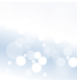 Blue Boke Background vector image vector image