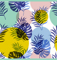 Botanical seamless modern pattern