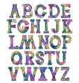 Colorful alphabet 2 vector image vector image
