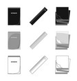 design of office and supply logo set of vector image