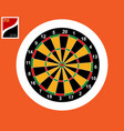 icon for playing darts vector image vector image