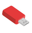memory usb isolated icon vector image