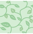 Seamless Summer and Spring Pattern with Leaves vector image vector image
