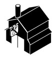 smithy icon simple black style vector image vector image