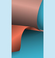 3d paper and texture pattern with shadow vector image vector image