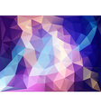 Background polygon Blue and Pink vector image