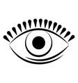 eye icon image vector image vector image