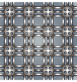 Metal netting seanless pattern