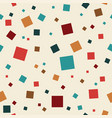 abstract seamless squares background texture vector image vector image