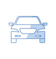 car transport icon vector image
