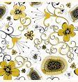 decdorative wallpaper pattern vector image vector image