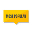 most popular price tag vector image vector image