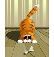Playful cat eps10