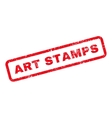 Art Stamps Text Rubber Stamp vector image vector image