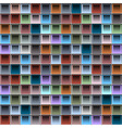Background with colorful blocks structure vector image