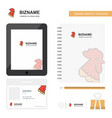 cock business logo tab app diary pvc employee vector image vector image