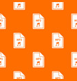 file mp3 pattern seamless vector image vector image