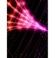 Neon Technology Background vector image vector image