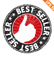 Stamp sticker best collection - - EPS10 vector image vector image