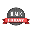 Black Friday sale icon cartoon style vector image vector image