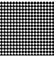 black geometric seamless pattern background vector image vector image