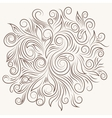 Elegant Swirl Ornament vector image
