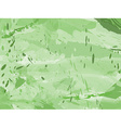 Grungy green ink background vector image