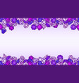 jewels background vector image vector image