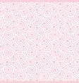 seamless circles pattern dot pattern geometric vector image vector image