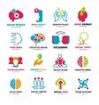 Social Relationship Logo Icons Set vector image