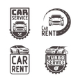 Automotive Car rent repair Logo Template Design vector image