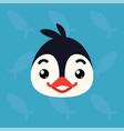 Penguin emotional head of