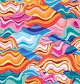 unusual fantasy bright colorful wavy abstract vector image vector image
