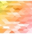 Colorful pink orange green polygonal background vector image