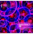 Abstract background Rosevioletblue and red vector image vector image