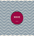 abstract modern blue wave design background wavy vector image